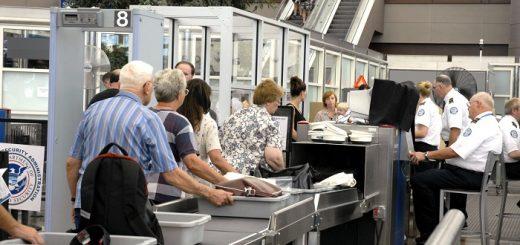control de seguridad aeropuertos